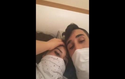 Türk hale kocası ile webcam show yapıyor