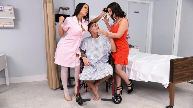 Hastane İçerisinde Unutulmaz Bir Skandala İmza Attılar